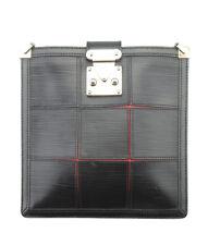 Louis Vuitton Black Square Epi Leather Shoulder Bag
