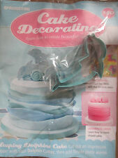 Deagostini Cake Decorating Magazine ISSUE 140 WITH METAL DOLPHIN BISCUIT CUTTER