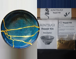 Kintsugi Repair Kit with 20 g Over Fine Gold Powder Personalized