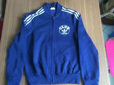Vintage adidas Club track top Ventex made in france Navy Blue-like New-Small