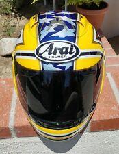 Arai RX-7 Corsair Colin Edwards Laguna Seca 50th Anniversary Yamaha Size M