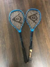 2 Dunlop POWER SMASH Squash Rackets used good condition