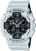 Casio G-Shock GA-100L-7A Analog-Digital Military White Resin Watch