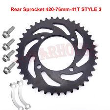 420 41T Rear Sprocket For50cc110cc 125cc 140cc 150cc CRF50 KLX SSR Pit Dirt Bike