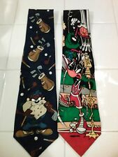 Looney Tunes ties (2)