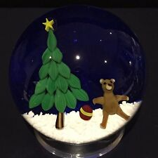 Bobby Banford Christmas Weight with Christmas Tree and Teddy Bear