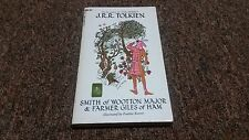 J. R. R. TOLKIEN, SMITH OF WOOTTON MAYOR & FARMER GILES OF HAM 1st printing 1969