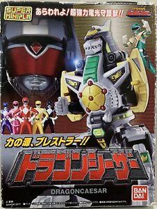 Super Minipla Megazord power rangers Zyuranger Dragonzord Dragon Ceaser Bandai