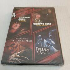 4 Ff Nightmare on Elm Street 5-8 Freddy vs Jason New Sealed Free shipping