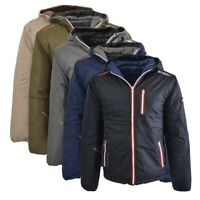 Giubbotto piumino Geographical Norway reversibile Alias giacca uomo cappuccio...