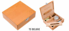 NEW Wolf Productions T3 Deluxe Red Birch Rolling Box
