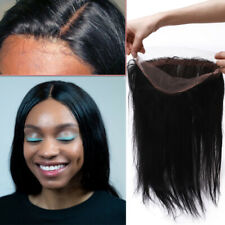 Free Part Closure Swiss Lace Frontal Virgin Human Hair Weave Natural Hairline