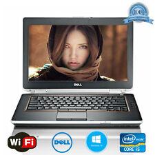 """Dell Latitude Laptop E6420 Core i5 2.5GHz 4GB 250GB 14"""" Windows 10 Notebook PC"""