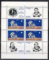 Romania 1971  Mi Block 83 Apollo 14 moon landing & US astronauts NH CTO CV15$