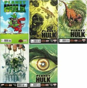Planet Hulk Secret Wars: War Zones #1-5 Marvel (2015) VF/NM