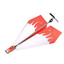 Elektrisches Papierflugzeug Flugzeuge Umbausatz Elektro für Kinder Erwachsene