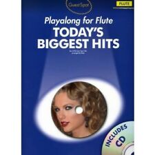 Playalong for Flute: Today's Biggest Hits - Flöte Querflöte NOTEN