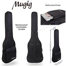 Mugig Guitare électrique Sac 600D Humidité Preuve épais Guitare Sac (Noir)
