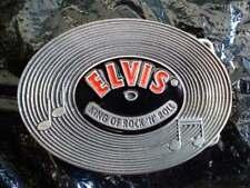 Boucle ceinture - Elvis Presley Vinyl - Marque Siskiyou