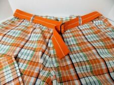 Most Official Seven (MO7) For Larger Men Plaid Cargo Shorts 141/2 Inseam 44W