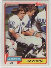 1981 Topps Football Seattle Seahawks Complete Team Set