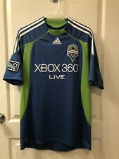 Adidas Seattle Sounders 2009 Away Soccer Jersey Size Large