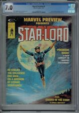 CGC 7.0 MARVEL PREVIEW #4 1ST APPEARANCE STAR-LORD GUARDIANS OF THE GALAXY