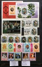 Jamica 18 Stamps & 3 Miniature Sheets Unmounted Mint (Lot 301 )