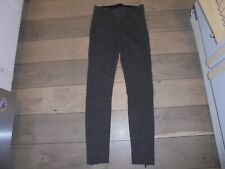 Jessica Simpson stylish gray skinny pants leggings with zippers size S