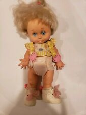 #6 So Sorry Sarah Original Clothes Baby Face Doll Blonde Blue  Eyes