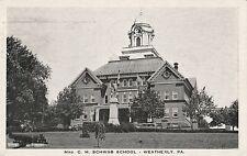 Mrs C M Schwab School in Weatherly Pa 1936