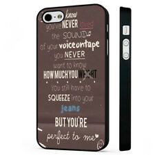 Little Things Lyrics 1D BLACK PHONE CASE COVER fits iPHONE