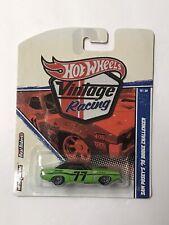 Hot Wheels Vintage Racing Sam Posey's '70 Dodge Challenger