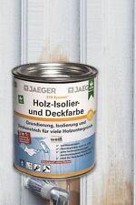 Jaeger Kronen Holz Iso-Deckfarbe seidenglanz 2,5l Isolierfarbe Holzdeckenfarbe