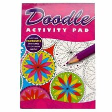 Doodle Colouring Activity Book