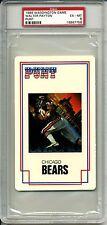 1986 WADDINGTON PUNT WALTER PAYTON PSA 6  HOF Chicago Bears