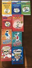 humour book collection Big Nate + the world of norm + i funny