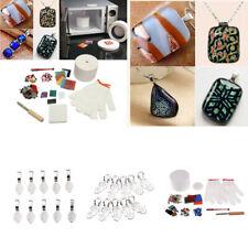 12Pcs/Set Large Microwave Kiln Kit Glass Fusing Craft Art Tool Professional