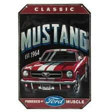 Classic 1965-1966 Mustang Embossed Tin Sign * Great Conversation Piece FREE SHIP