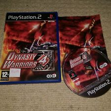 DYNASTY WARRIORS 4  - Rare Sony PS2 Game