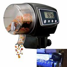 AU Aquarium Tank Pond Feeding Timer Digital LCD Auto Automatic Fish Food Feeder