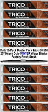 "10-Pack 20"" Trico Heavy Duty WINTER Wiper Blades 66-200 x 10 (66-200T Bulk Pack)"