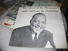 Count Basie & His Orchestra ; The Count at the Chatterbox LP SEALED NEW!!!