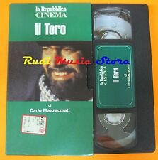 film VHS IL TORO  D. Abatantuono REPUBBLICA  CARTONATA (F47)  no dvd