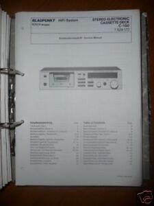 Service Manual Blaupunkt C-150 Cassetten Deck,ORIGINAL