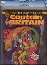 Captain Britain #2 CGC 9.6  British Magazine Size Comic in 1985: Price Drop!