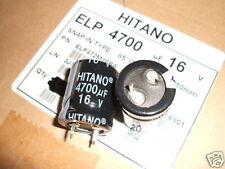 2 Electrolytic Capacitors 4700uF 16V PSU Amplifier  (305)