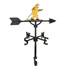 """32"""" Roof Mount Weathervane Fireman Directionals New 4 Finishes"""