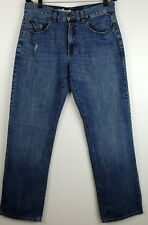 """Urban Pipeline Mens 32 x 34 Relaxed Straight Jeans W 33"""" I 32.5"""" Distressed"""