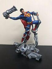 Superman vs Machine 1998 DC COMICS ~ Limited Edition Sculpture Statue New in Box